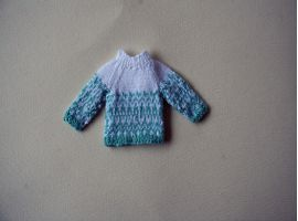 Child fair isle sweater