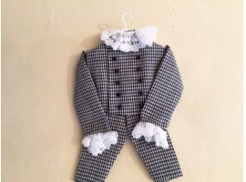 Little boy outfit on  hanger