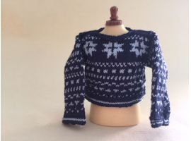 Adult Fair Isle jumper