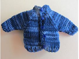 Cardigan for a child